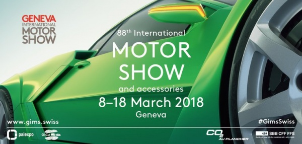 Afis Salonul International Auto Geneva