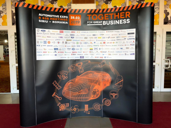 Participare Pick-Up la Automotive Expo Sibiu 2019
