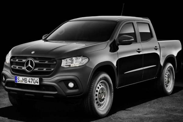 Pick-up Mercedes X class sfarșit de drum în 2020