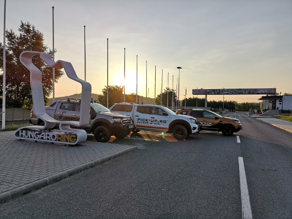Participare la festivalul pick up de pe Hungaroring