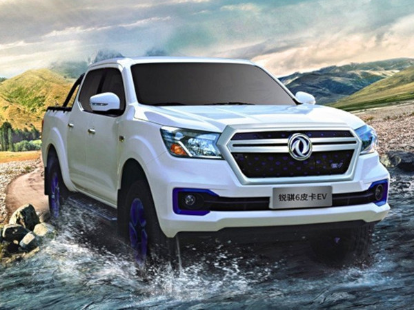 Autoutilitara pick up electric Nissan-Navara Dongfeng